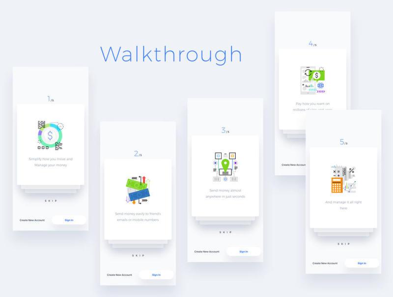 为iPhone X.,AB Wallet Mobile App创建钱包应用程序