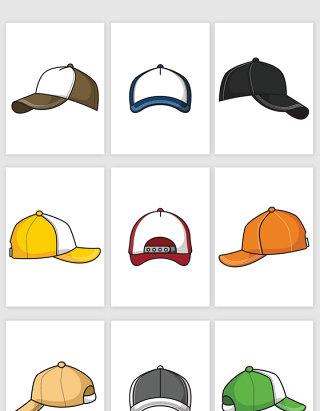 素描帽子矢量图形