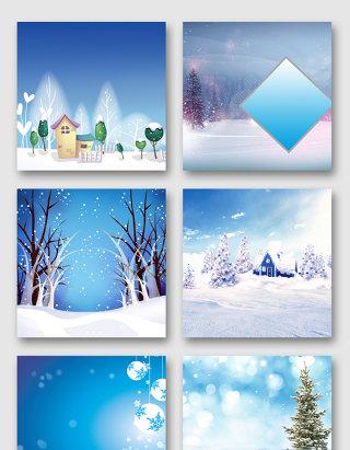 冰雪天气效果素材