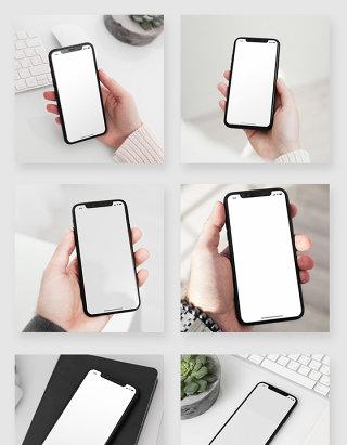 苹果iPhone X手机使用场景样机素材