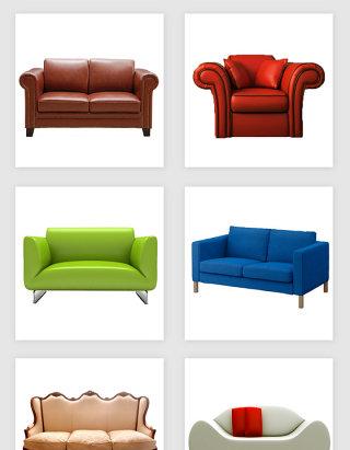 沙发素材组合设计