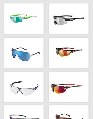 高清免抠运动太阳镜眼镜