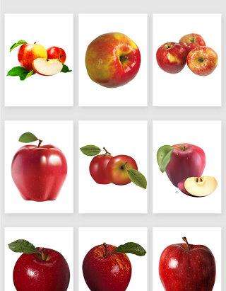 免抠图png图红苹果矢量设计素材编号02