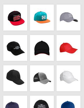 高清免抠棒球帽帽子素材