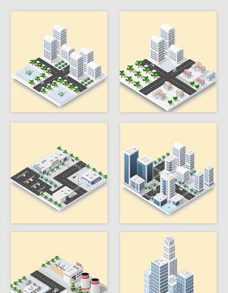 创意3D建筑设计素材