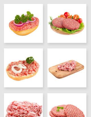 剁肉原材料设计素材