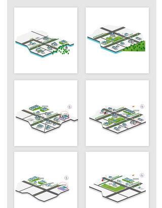 平面规划图矢量设计