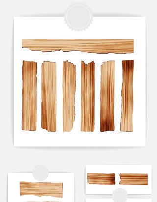 木头木纹设计元素