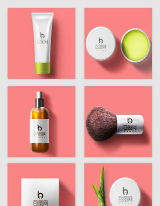 化妆品样机设计素材