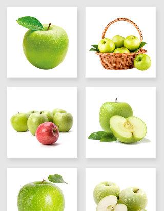 产品实物青苹果设计素材