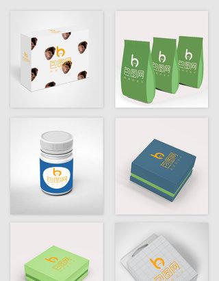 商用包装样机设计素材