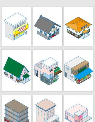 建筑3D模型设计元素