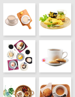 产品实物下午茶设计素材