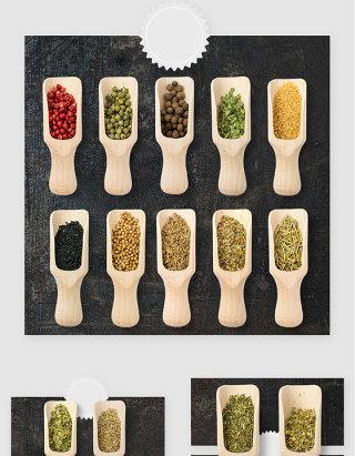 厨房烹饪调料品佐料高清PSD素材