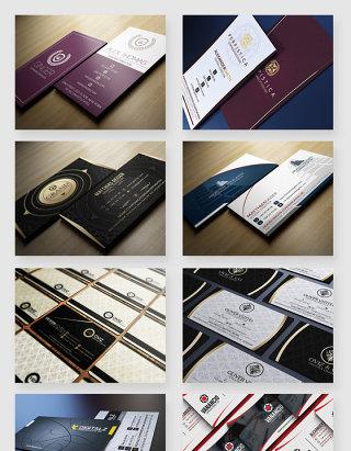 企业商务名片印刷设计PSD素材
