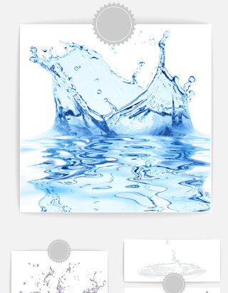 水波纹图案素材