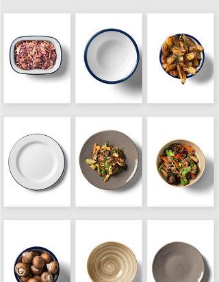 厨房餐盘菜肴美食高清PSD素材