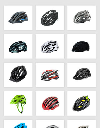 高清免抠自行车头盔