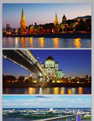 俄罗斯旅游俄罗斯风景沙皇建筑的背景图