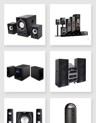 生活用品电子产品音响素材