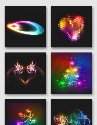 炫酷光效设计元素合集