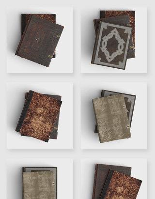怀旧复古历史古代书籍封面苏素材