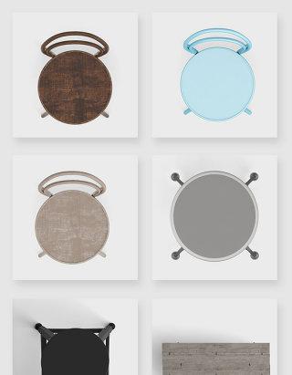 简约创意家具椅子PSD素材