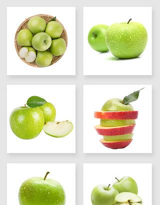 美味的青苹果设计元素