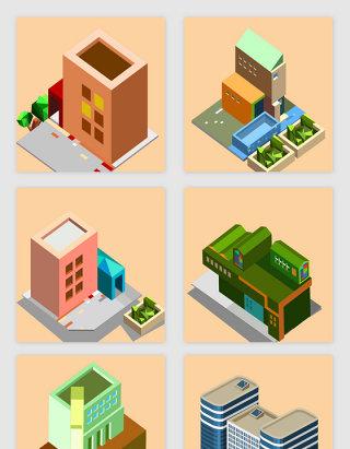 3D建筑房屋装饰素材