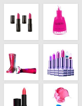 女性化妆品相关的矢量素材