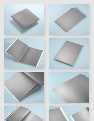 产品设计书籍画册模板样机素材