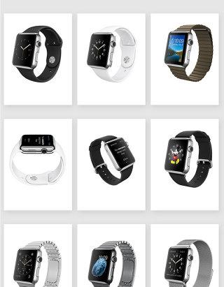 电子产品运动手表素材