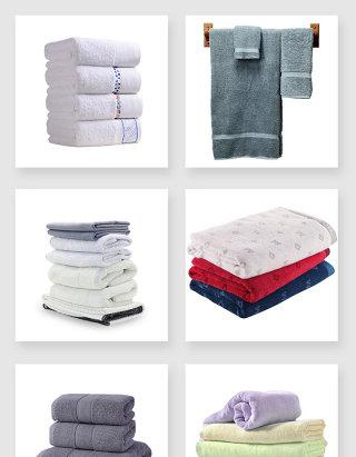 真实的浴巾设计素材