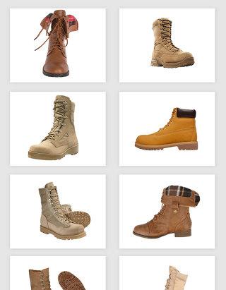 高清免抠马丁靴登山靴