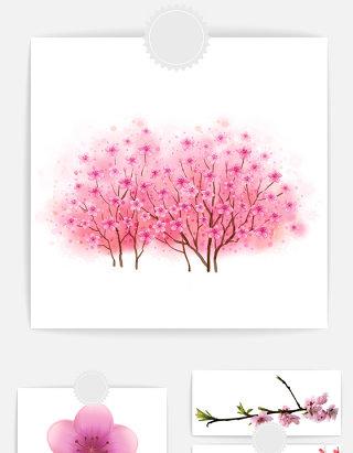 花朵花瓣装饰素材