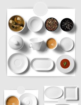 白色厨房用具素材