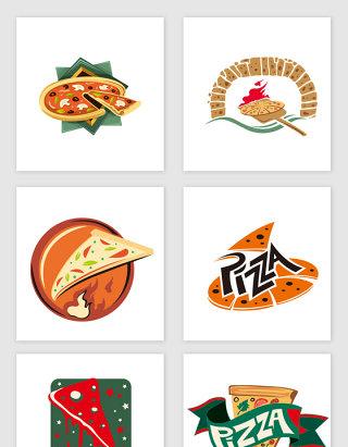 披萨餐厅不规则图形合集