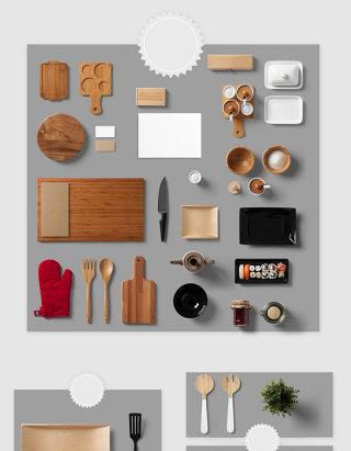 高清免抠厨房用品素材