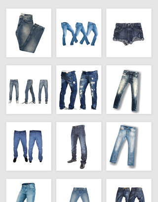 高清免抠牛仔裤素材