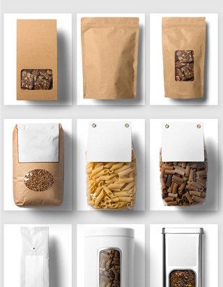 咖啡包装设计素材