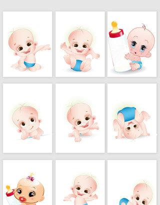 手绘可爱婴儿图片