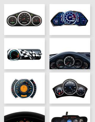 汽车仪表盘PNG免抠素材