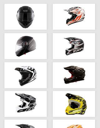 高清免抠赛车摩托车头盔