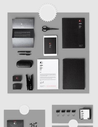 高清PSD企业视觉识别VI素材