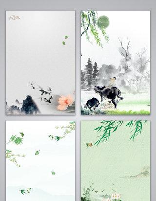 中国传统节日清明节广告包图