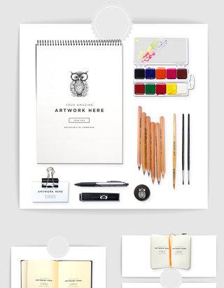 产品设计美术用品设计样机素材