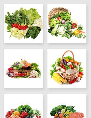 各种蔬菜水果设计元素