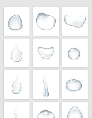 立体真实水泡气泡素材