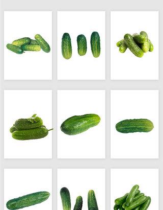 高清免抠黄瓜蔬菜素材