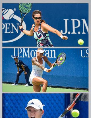 打网球网球培训比赛的背景图